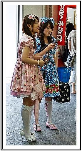 Lolites o nenes cosplay