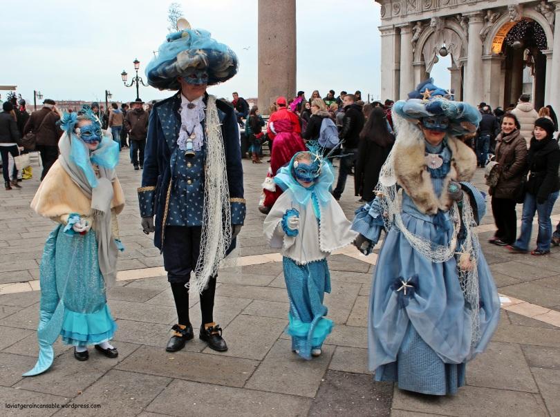 Toda la familia al Carnevale
