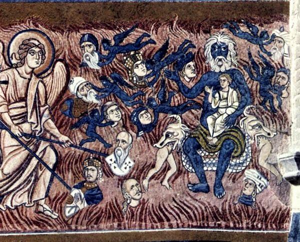 Un detalle del mosaico, que no le hace ninguna justicia, puesto que es mag-ní-fi-co