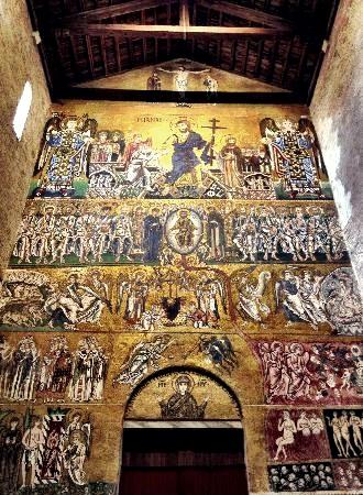 Mosaico del Juicio Universal (c. 1000 AC)