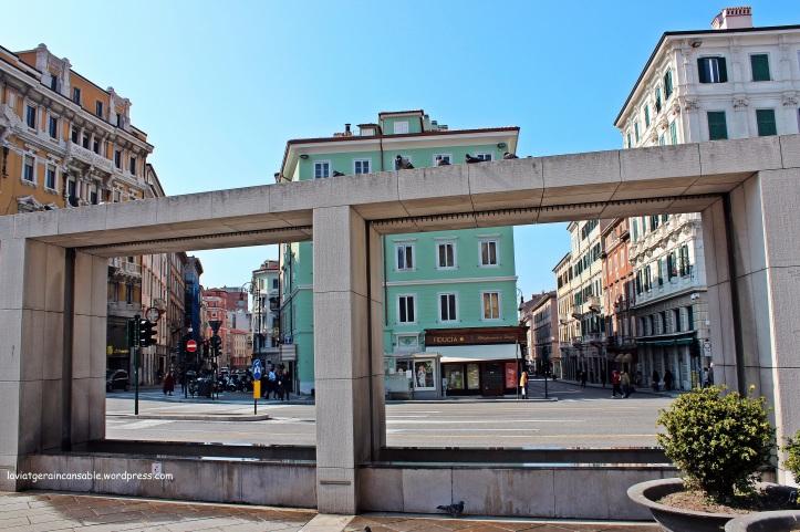 Vista de la Piazza Goldoni