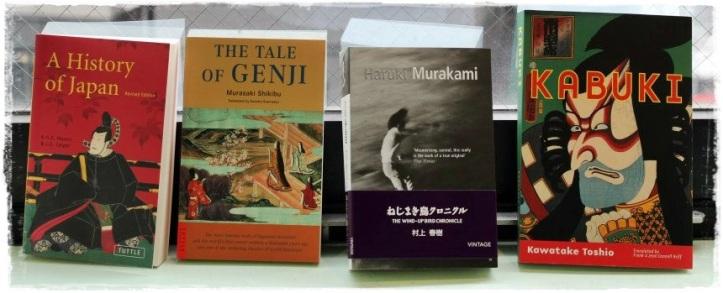 Estos son algunos de los libros que me traje de Japón