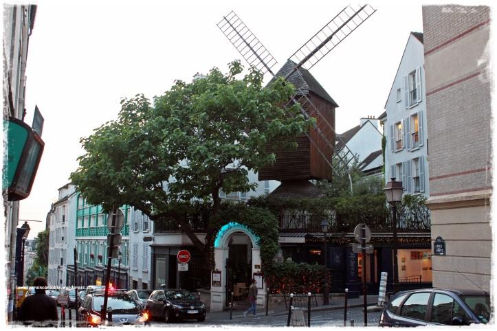 Restaurante Le Moulin de la Galette, en Montmartre