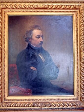 originalmente propiedad del pintor, grabador y escultor de origen neerlandés Ary Scheffer y de su sobrino político Ernest Renan
