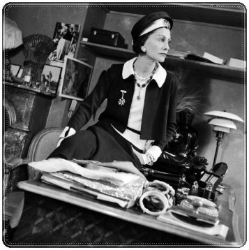 Coco Chanel (1938), fotografiada por François Kollar