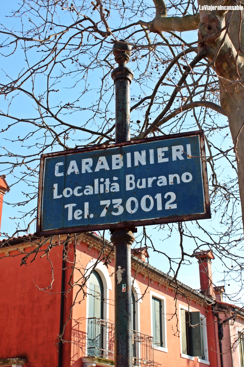 Paseando por Burano