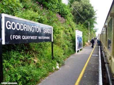 platform of goodrington Sands