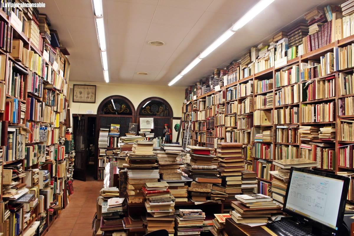 Bibliotecas y librerías del mundo | Costa Llibreter, una librería de viejo en el casco antiguo de Vic