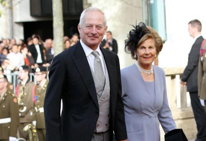 príncipe Hans Adam y princesa Marie
