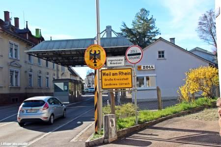 Entrada a Weil am Rhein
